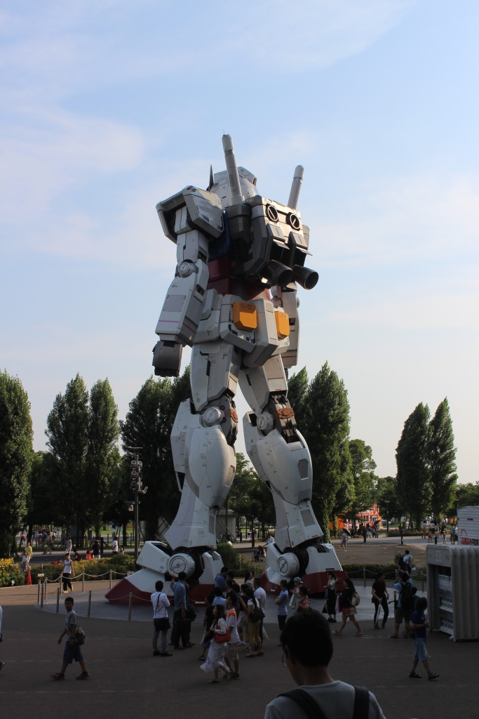 Gundam...so notorious for