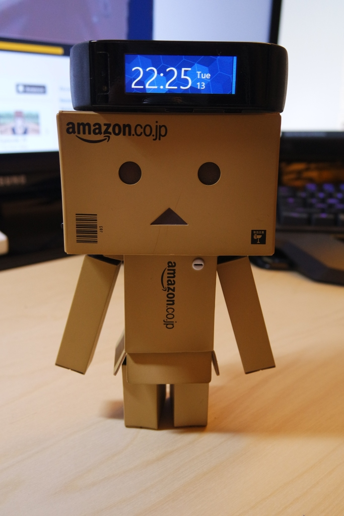 Danbo makes a guest appearance.
